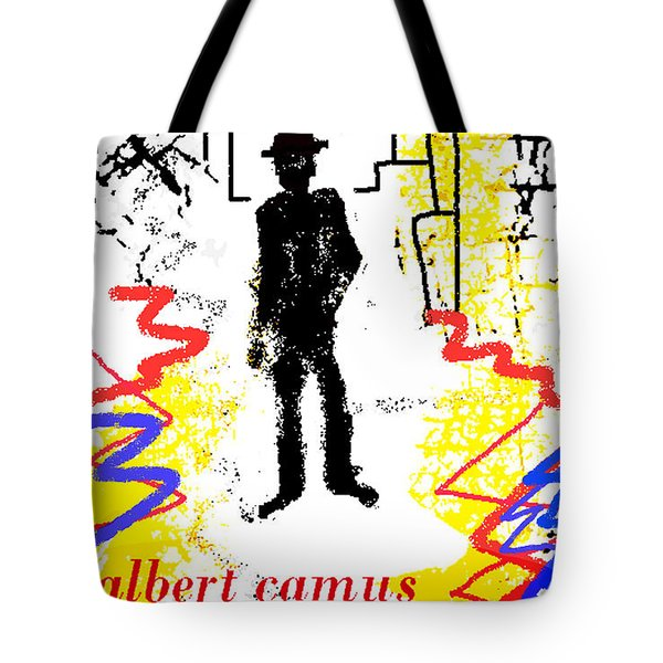 The Stranger Albert Camus Poster Tote Bag