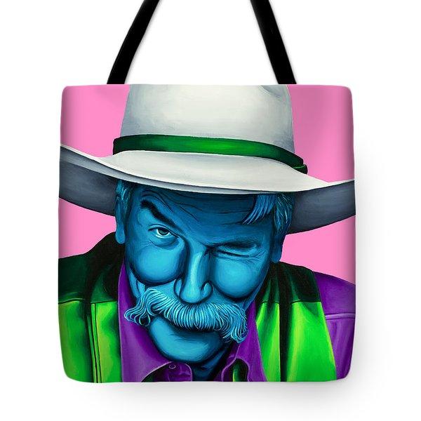 The Stranger- Color Edit- Tote Bag by Ellen Patton