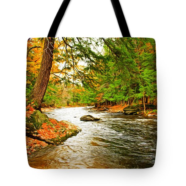 The Stream Tote Bag by Bill Howard