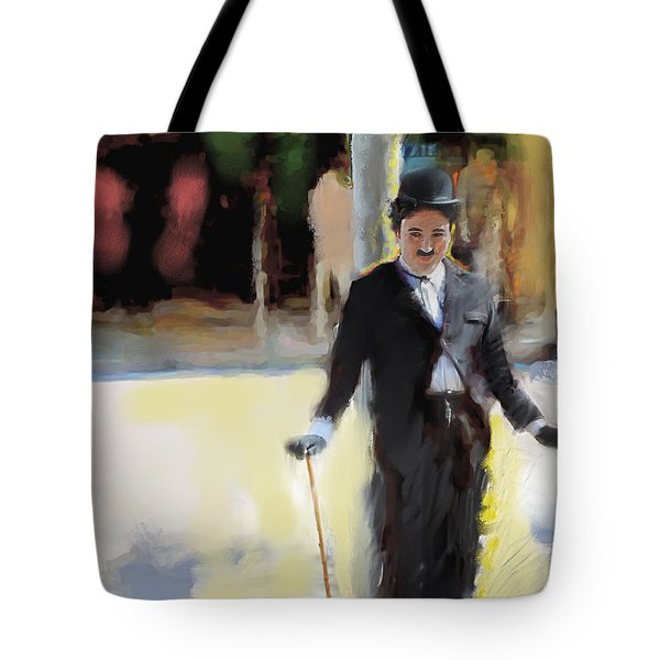The Street Entertainer Tote Bag