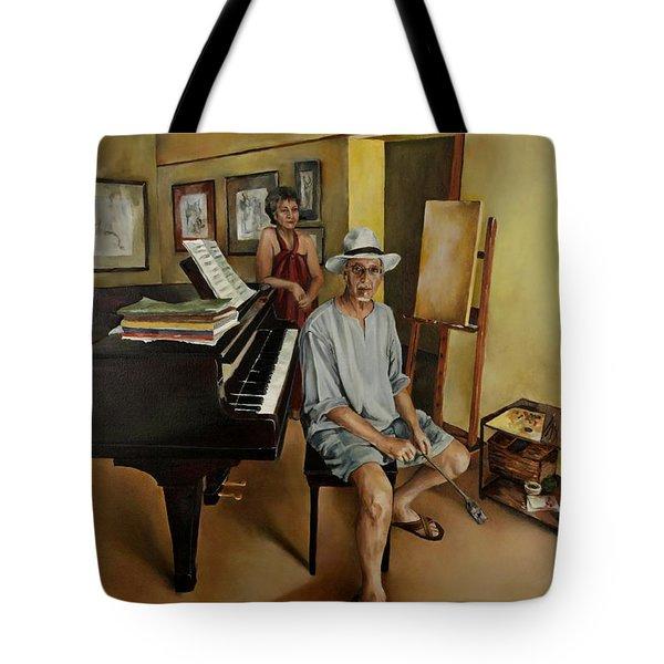 The Studio Tote Bag by Jolante Hesse
