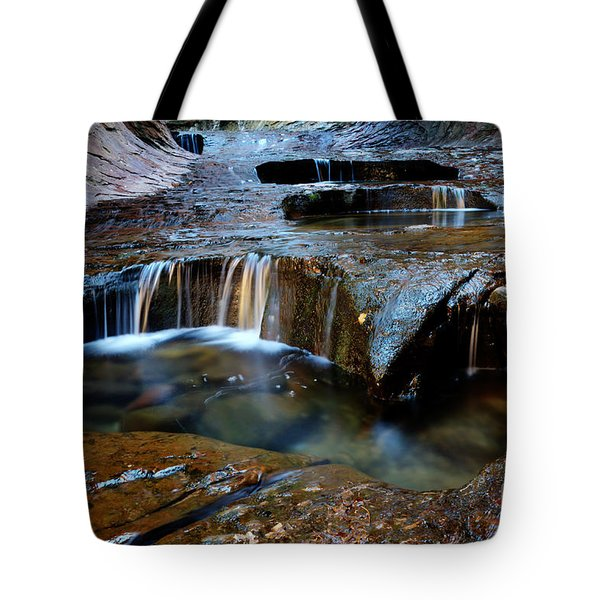 The Subway Pools Of Wonder Tote Bag by Bob Christopher