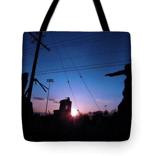 The Sun Also Rises On Ruins Tote Bag