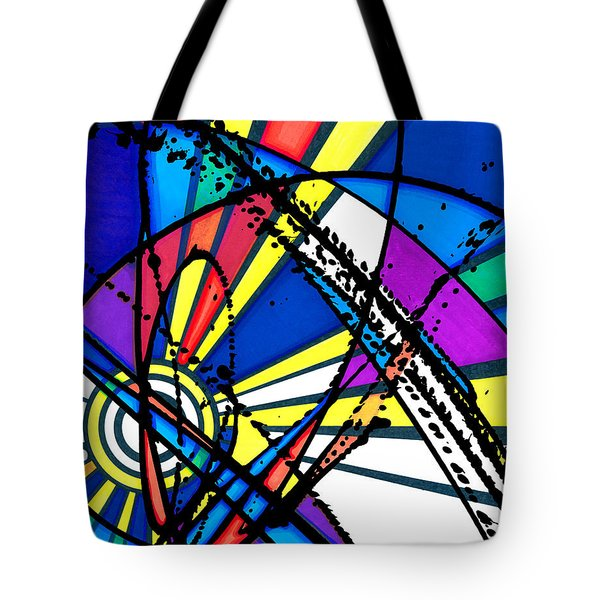 The Sun Card Tote Bag