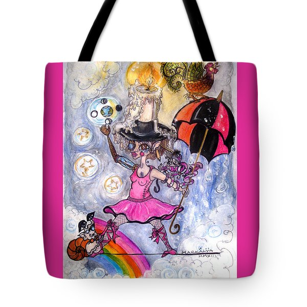 The Sun Is Coming			 Tote Bag by Koral Garcia
