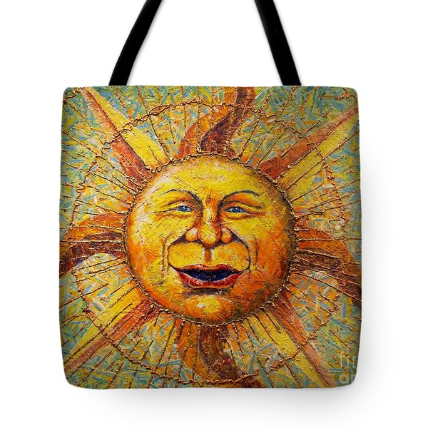 The Sun King Tote Bag