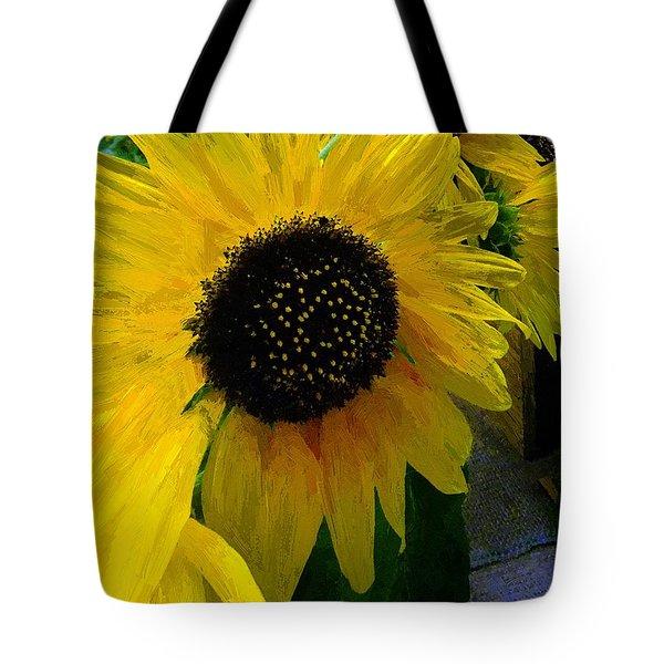 The Sun King Tote Bag