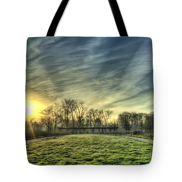 The Sun Shines Through Tote Bag
