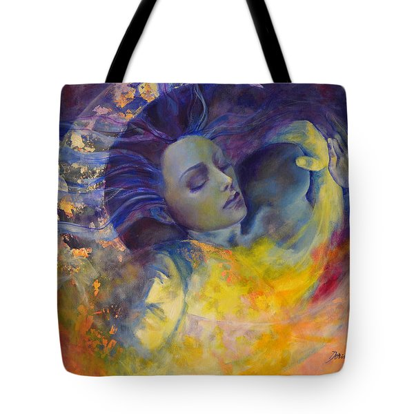 The Sun The Moon And The Truth Tote Bag by Dorina  Costras