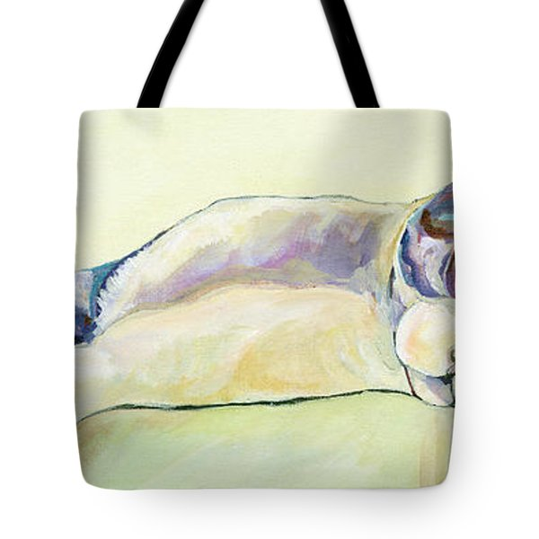 The Sunbather Tote Bag
