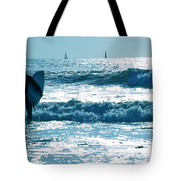 The Surfer 2 Tote Bag