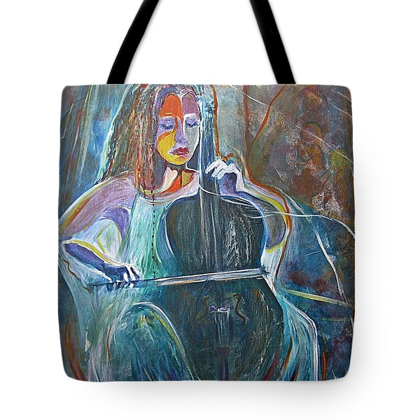 The Swan Of Saint-sanz Tote Bag by Diana Bursztein