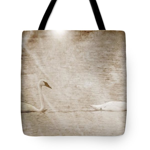 The Swan Song Tote Bag