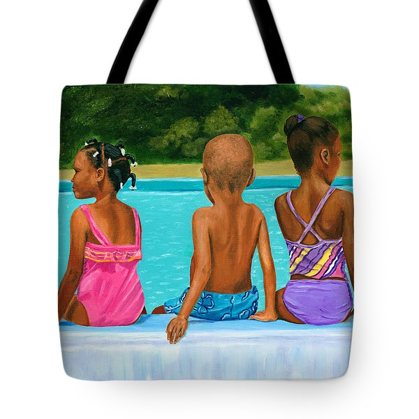 The Swim Lesson Tote Bag