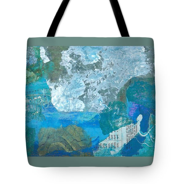 The Swimmer Tote Bag by Catherine Redmayne