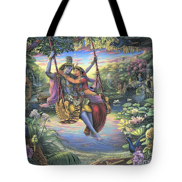 The Swing Pastime Tote Bag