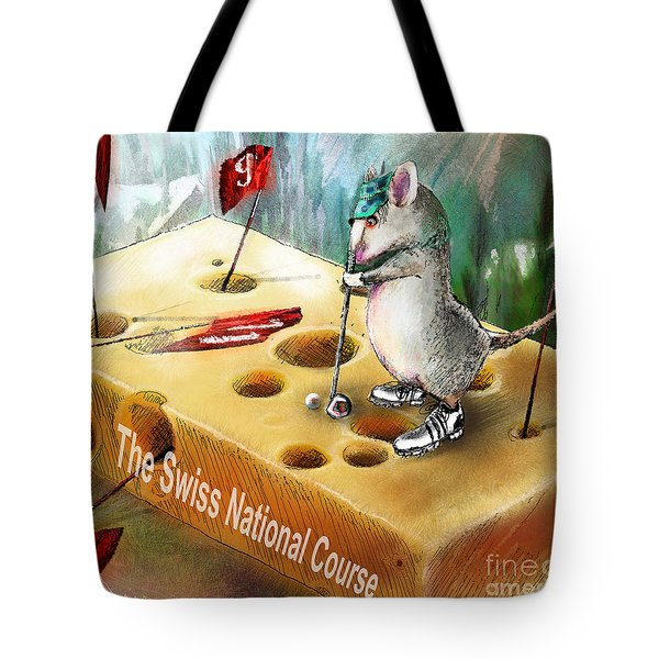 The Swiss National Course Tote Bag by Miki De Goodaboom