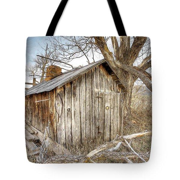 The Tack Shed Tote Bag