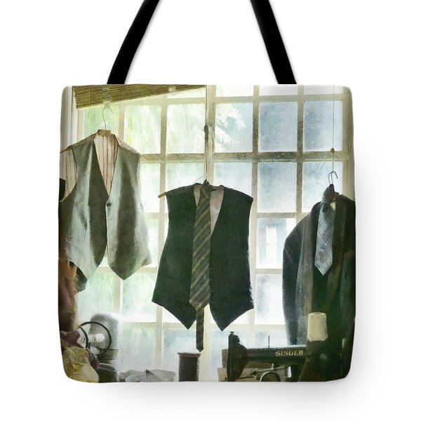 The Tailor Shop Tote Bag