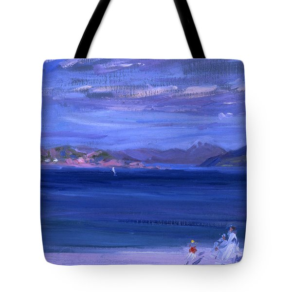 The Tale Of Mull From Iona Tote Bag by Francis Campbell Boileau Cadell