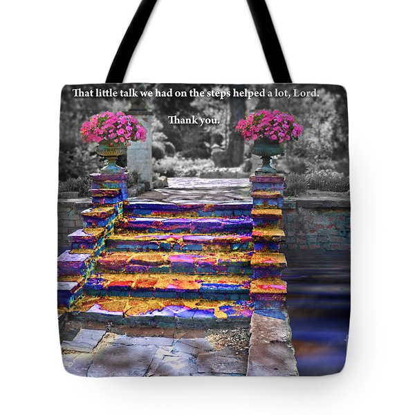 The Talk Version One Tote Bag