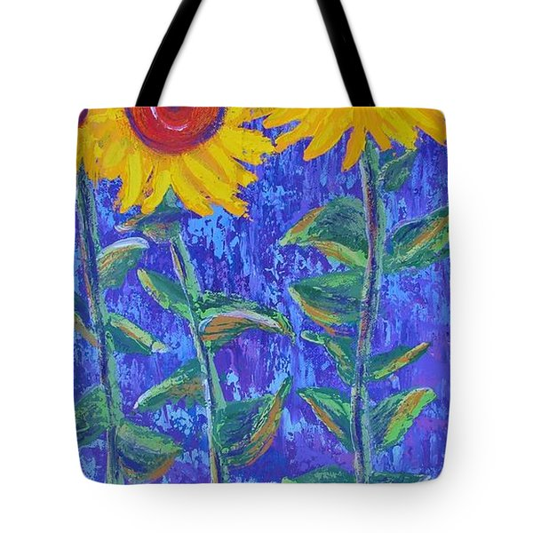 The Tall And Short Of It Tote Bag by Margaret Bobb