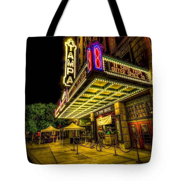 The Tampa Theater Tote Bag