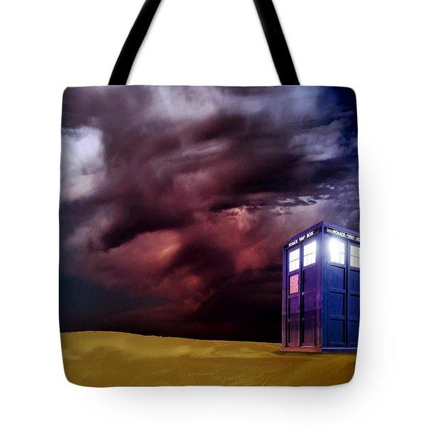 The Tardis Tote Bag