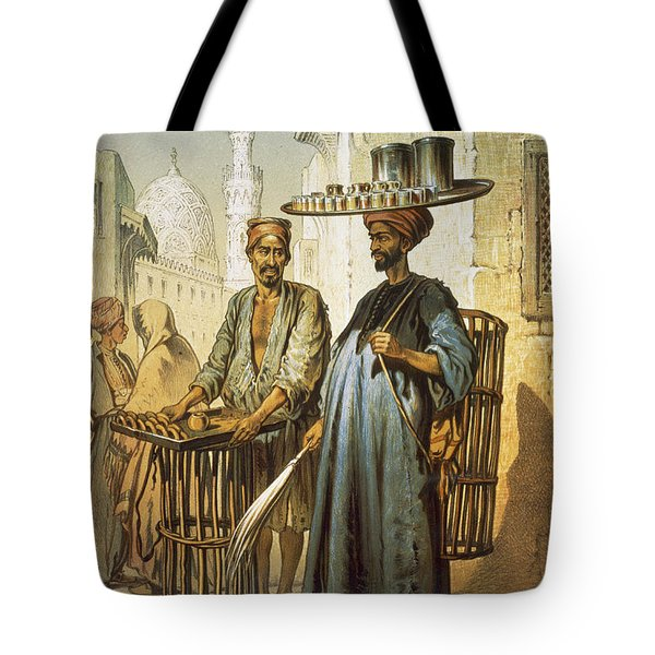 The Tea Seller Tote Bag