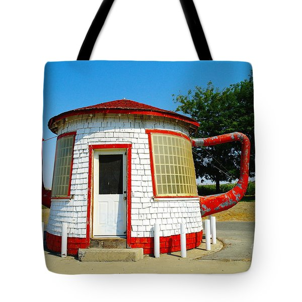 The Teapot Dome  Tote Bag by Jeff Swan