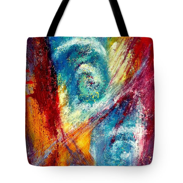 Tote Bag featuring the painting The Tempest by Jim Whalen