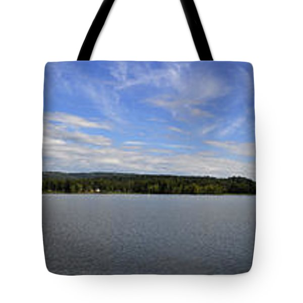The Tennessee River In Alabama Tote Bag by Verana Stark