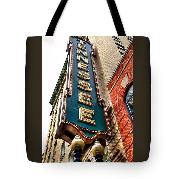 The Tennessee Theatre - Knoxville Tennessee Tote Bag