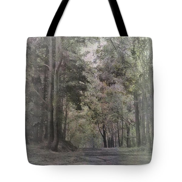 Tote Bag featuring the photograph The Terrace by Elaine Teague