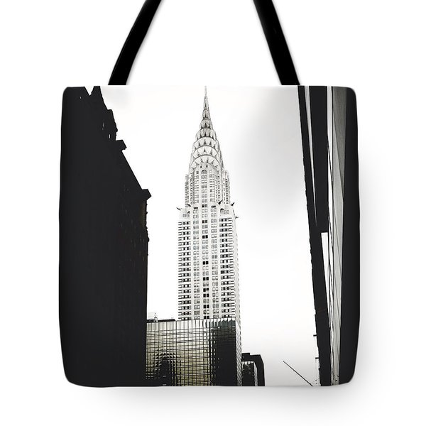The Terraced Crown Of Manhattan Tote Bag