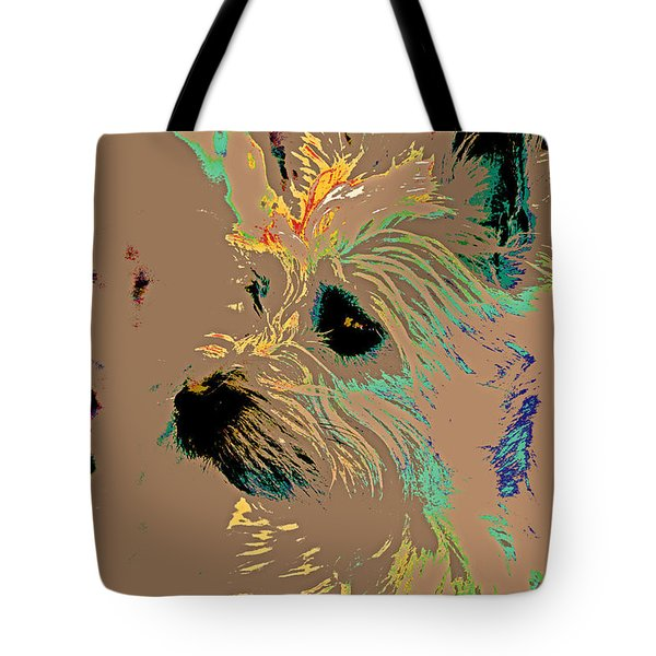 The Terrier Tote Bag by Lynn Sprowl