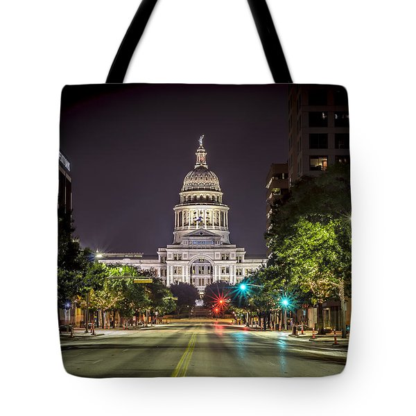 The Texas Capitol Building Tote Bag