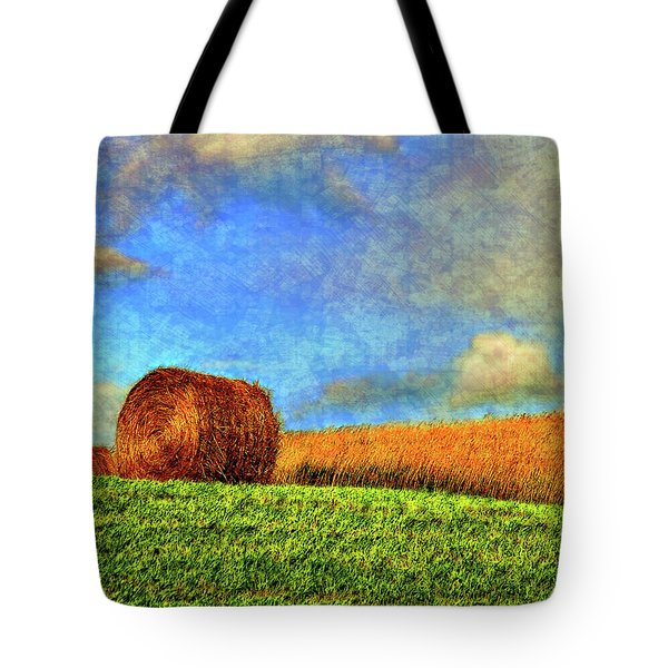 The Textures Of Autumn Tote Bag by Steve Harrington