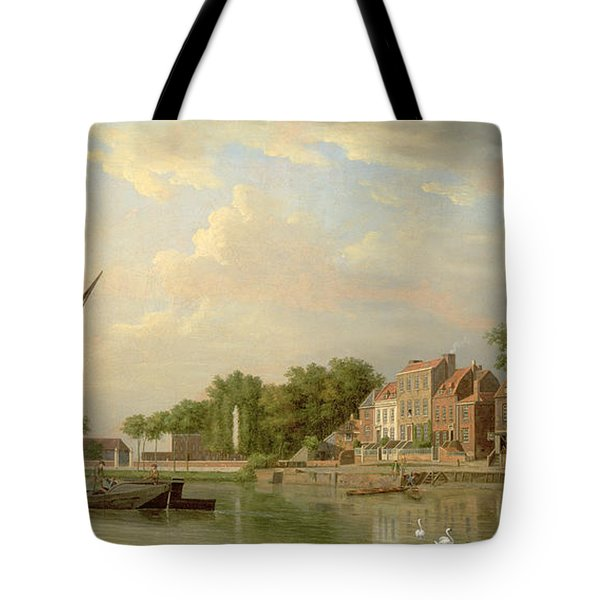 The Thames At Twickenham, 18th Century Tote Bag