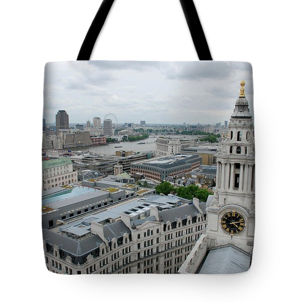 The Thames From St Paul's Tote Bag