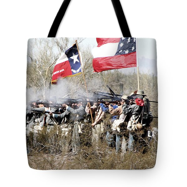 The Thin Gray Line Tote Bag by Joe Kozlowski