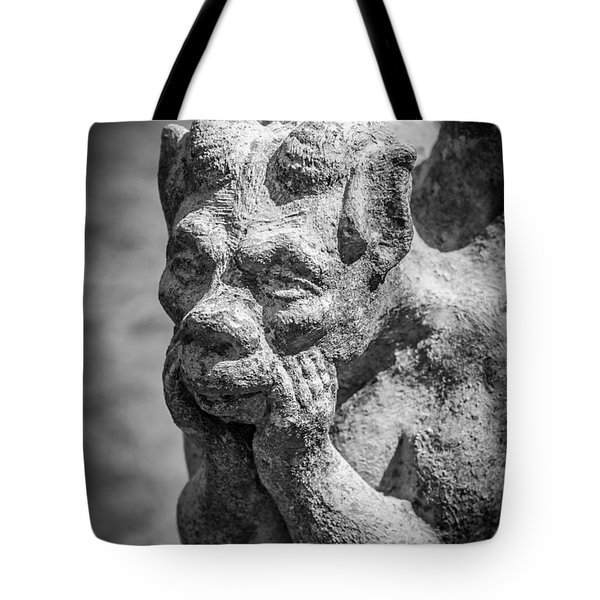 The Thinker Tote Bag by James Barber