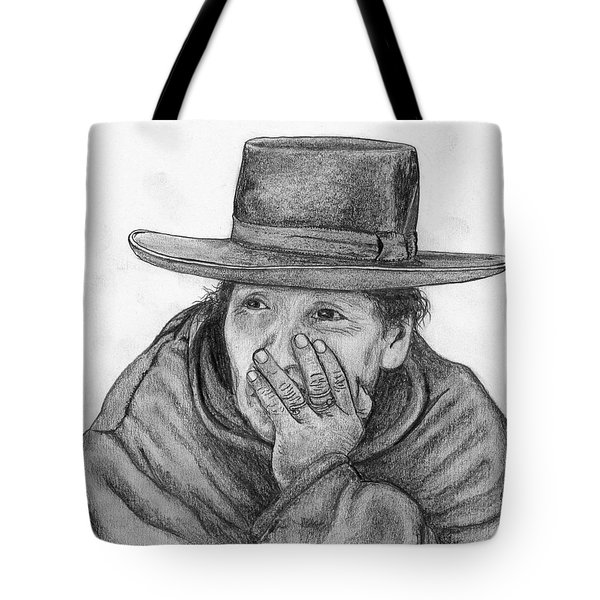 The Thinker Tote Bag by Lew Davis