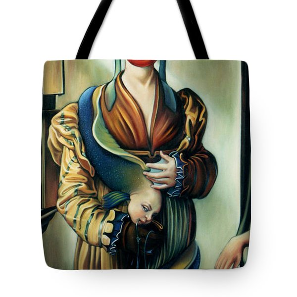 The Third Deadly Fin Tote Bag