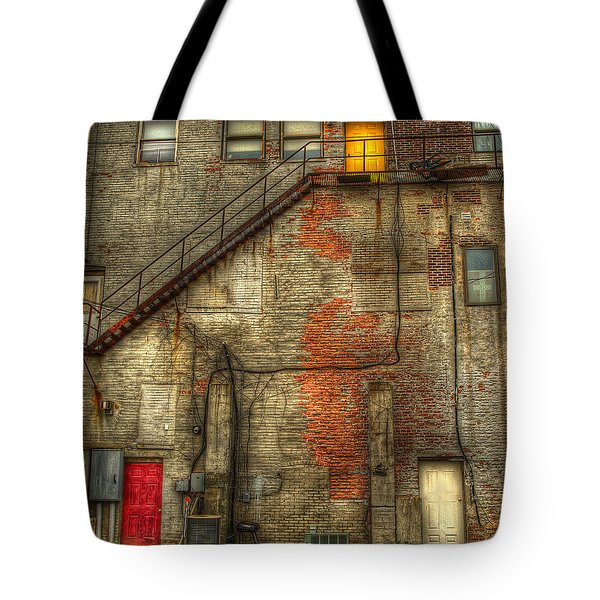 The Three Doors Tote Bag