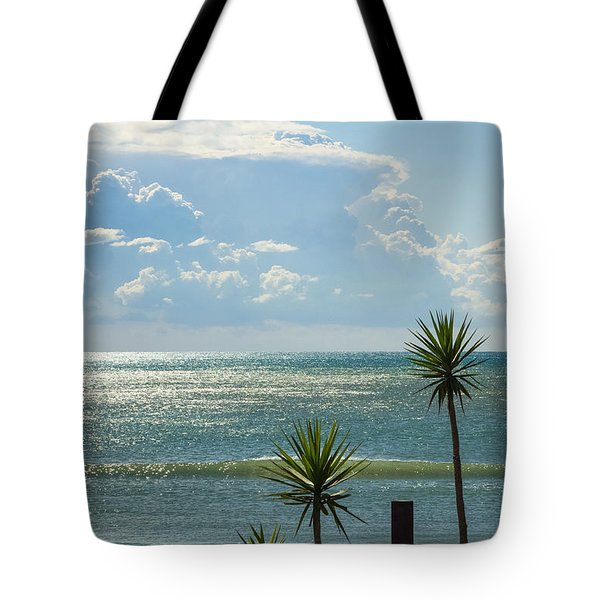 The Three Palms Tote Bag