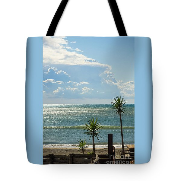 The Three Palms Tote Bag