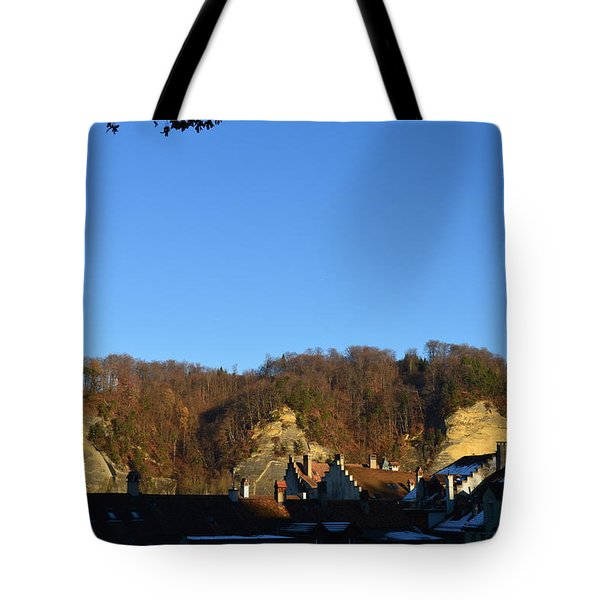 Tote Bag featuring the photograph The Three Stones From Burgdorf by Felicia Tica