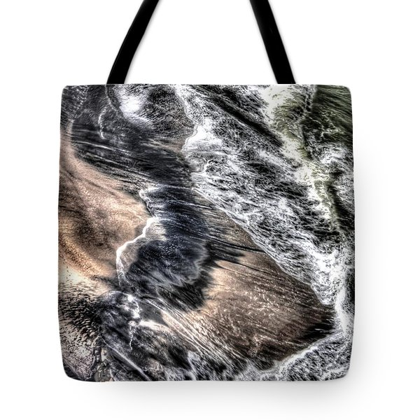 The Tide From Above Tote Bag by Bob Hislop