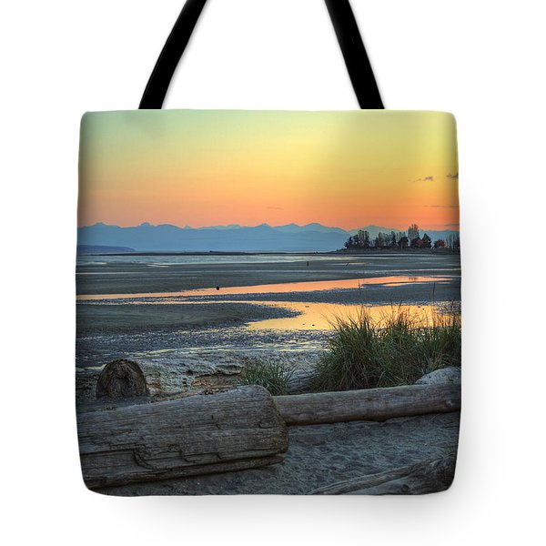 The Tide Is Low Tote Bag by Randy Hall